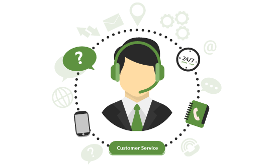 24/7 Customer Care Support