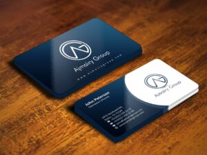 500gram Glossy business cards